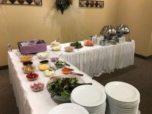 Shower buffet
